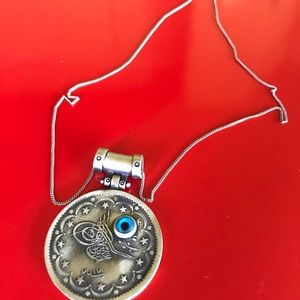 Antique Beautiful Silver Necklace